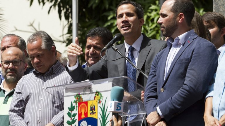 Хуан Гуайдо призова за нова вълна от протести