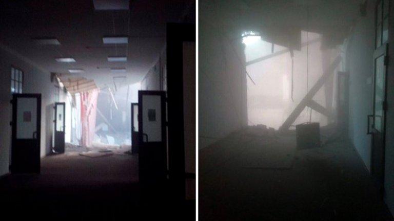 Част от сграда на университета в Санкт Петербург се срути, има затрупани