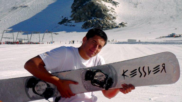 Иван Ранчев е първият български сноубордист, който ще участва на Олимпийски игри