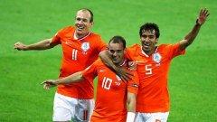 Робен, Снайдер и Ван Бронкхорст отново ще са основни двигатели за успеха на Холандия