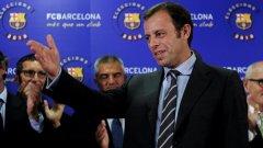 Бившият вицепрезидент на Барселона Сандро Росей бе избран за президент снощи