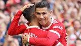 """Роналдо е голова машина, Юнайтед отново може да мечтае: 5 извода след повторния дебют на Кристиано за """"червените дяволи"""""""