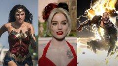 DC Fandome предложи нов трейлър за Wonder Woman 1984 и пръв поглед към Black Adam и The Suicide Squad