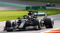 Хамилтън не успя да изравни рекорда на Шумахер