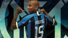 Йънг ще играе в Интер поне до края на сезона
