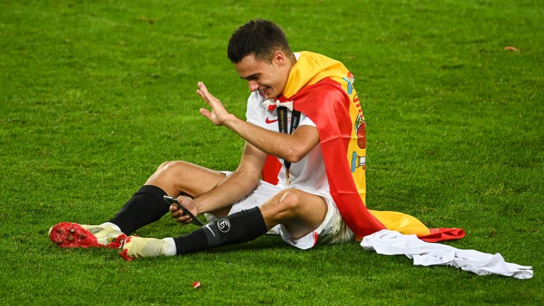 Серхио Регилон прекара миналия сезон като отдаден под наем в Севиля, с който спечели трофея от Лига Европа