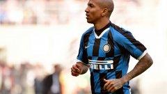 Ашли Йънг дебютира с асистенция за Интер при равенството 1:1 с Каляри