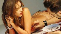 """Последният ангажимент на Ирина Шейх - фотосесия за списание ELLE, в която гаджето на Кристиано Роналдо е облечено само с кристали """"Сваровски"""""""