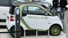 """Европейските планове за електрическите автомобили са да издават """"характерни мелодии"""", за да предупреждават пешеходците..."""