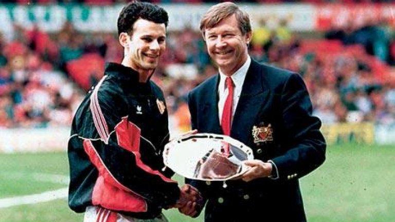 Гигс трябваше да е в Сити, но беше доведен в Юнайтед от разносвач на вестници, а го забеляза млекар