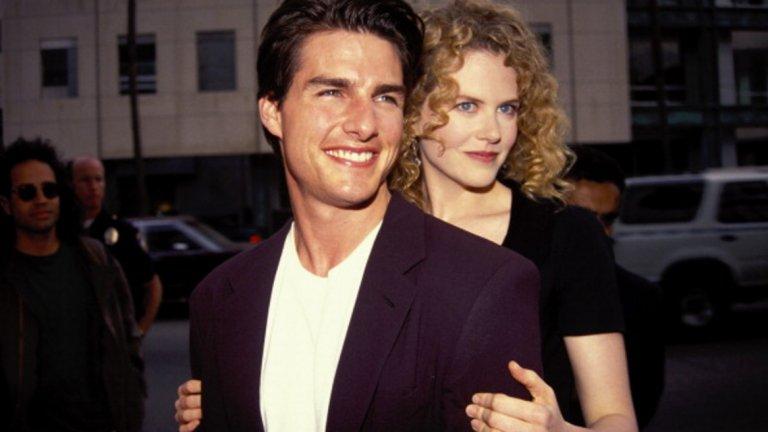 Том Круз и Никол Кидман бяха звездната двойка на 90-те, а общите им участия са не в 1, а в цели 3 филма, които предопределиха романтичната им афера и в живота.