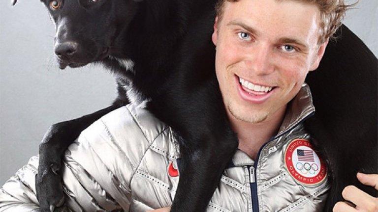 Скиорът се прочу, когато осинови бездомно куче от Сочи