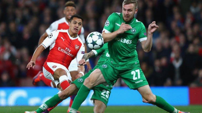 """Арсенал – Мидълзбро, събота 17:00 часа """"Артилеристите"""" се намират в страхотна форма, като през седмицата сгазиха Лудогорец с 6:0 на """"Емирейтс"""". Сега там пристига Мидълзбро, отбор, който едва ли ще успее да спре серията от седем поредни победи за """"топчиите"""". Сигурен залог: 1 при -1,5 на АХ: 1,75 Рискова прогноза: Арсенал да спечели и двете полувремена – 2,37"""