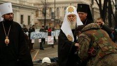 Православието в Украйна е разделено между Киев и Москва