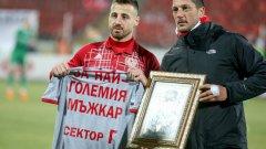 Николай Бодуров официално вече не е футболист на ЦСКА