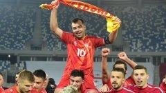 Горан Пандев е национален герой в Северна Македония.