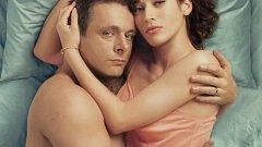 Доктор Мастърс и неговата асистентка Вирджиния Джонсън в сериала Masters of Sex