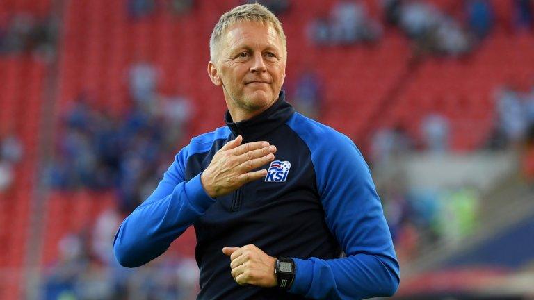 Възходът на Исландия е свързан с тихия лидер на скамейката Халгримсон, който знае как да ръководи играчите и как да се сближи с феновете