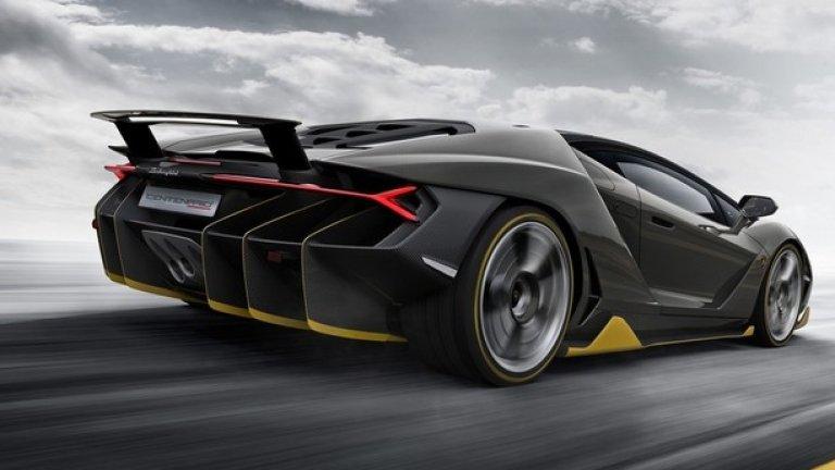 Автомобилът се задвижва от 6,5-литров V12 с 770 конски сили