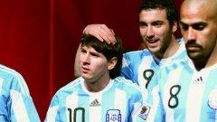 Хуан Себастиан Верон не смята, че Меси има лидерските качества на Марадона