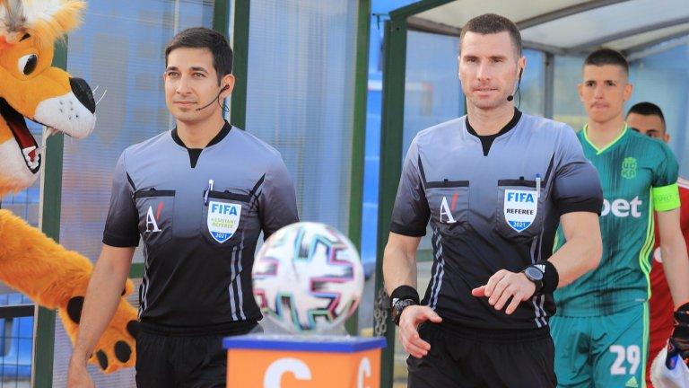 Георги Кабаков и Мартин Маргаритов ще бъдат част от съдийската бригада за двубоя между Шотландия и Чехия на Евро 2020