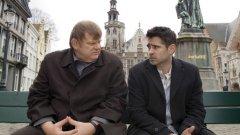 """В Брюж / In Bruges (2008)  Това е един от задължителните филми на Мартин Макдона - създателят на """"Три билборда извън града"""". Черната комедия с Брендан Глийсън и Колин Фарел разказва историята на двама наемни убийци, изпратени в Брюж да чакат инструкции от шефа си след грешка по време на последното покушение."""