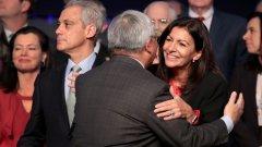 Това е поражение за президента Еманюел Макрон, чийто кандидат остана трети