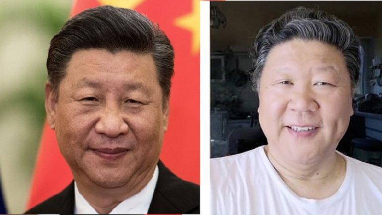 Да приличаш на лидер на авторитарна република се оказва голям проблем за оперния певец Лю Кенон