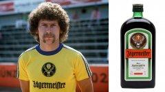 Jagermeister През 1973 година Айнтрахт Брауншвайг играе с името на палавия алкохол върху фланелките си.