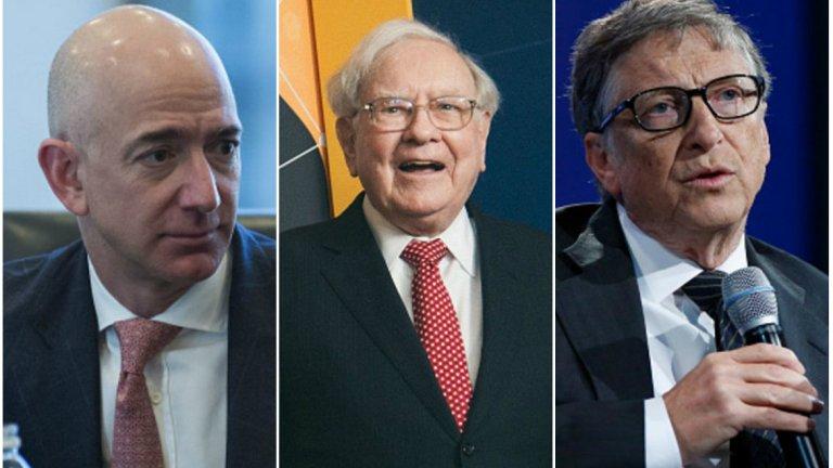 Кои са 10-те най-богати хора в света според Forbes ще разберете от галерията: