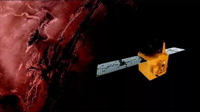 """""""Надежда"""" – първият арабски космически апарат, устремен към Марс"""