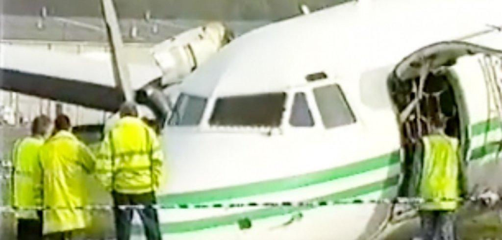 На 30 секунди от смъртта: Самолетната катастрофа на Лийдс и щастливият край