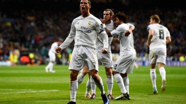 """10. Кристиано Роналдо Португалецът """"ще носи"""" """"Златната топка"""" в следващите 12 месеца. Наскоро обяви, че има още 10 години футбол пред себе си. Имайки предвид физическото му състояние, това не би трябвало да учуди никого. Никога неспиращ да тренира, Роналдо ще бъде един от основните претенденти за """"Златната топка"""" и през следващата година."""