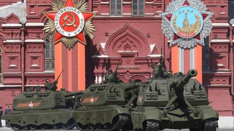Въпреки кризата и западния бойкот, Русия организира най-пищния парад за честване на края на Втората световна война