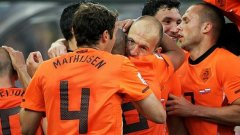 Холандците отбелязаха повече голове от всеки друг отбор в квалификационната кампания за Евро 2012