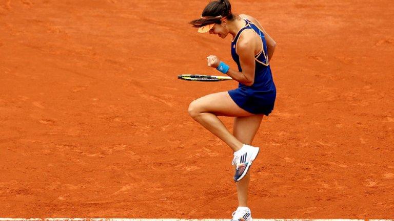 6. Ана Иванович – сръбкинята достигна първия си полуфинал от седем години насам – на Ролан Гарос – винаги има място в подобни класации.