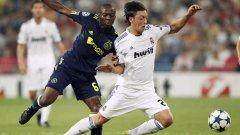 Първият мач в Мадрид между Реал и Аякс завърши 2:0, като плеймейкърът Месут Йозил отбеляза втория гол