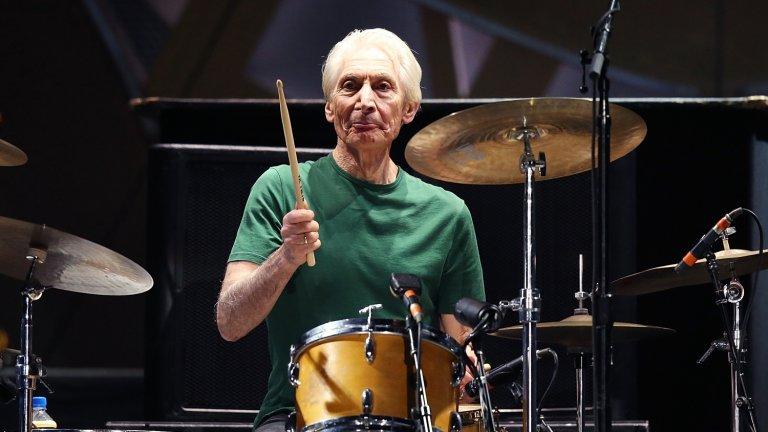 Почина барабанистът на The Rolling Stones Чарли Уотс
