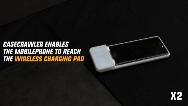 С CaseCrawler смартфонът ви сам ще отиде да се зарежда и ще ви намира, когато вие не можете да откриете него
