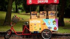"""Рикшата с плодовете ще е в """"Квартал Фестивал"""" на 18 и 19 септември и в """"Реките на София"""" на 25 и 26 септември"""