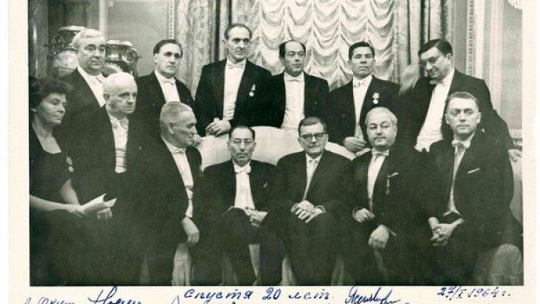 Оркестърът на Елиасберг се среща с композитора Шостакович 20 години след исторически концерт