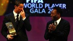 Пеле призна и поздрави Роналдо за подобряването на рекорда му