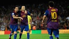 Меси се връща в състава на Барселона