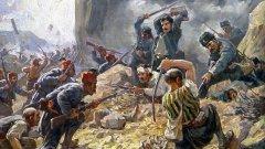 В отбраната на Шипченския проход българските опълченци се сражават героично. Отблъскват няколко атаки за два дни