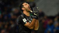 Голям провал за Италия, Буфон ще пропусне Световното и след мача обяви, че се оттегля от националния тим