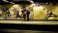 Парижкият обществен транспорт губи 80 млн. евро на година от гратисчии в метрото...
