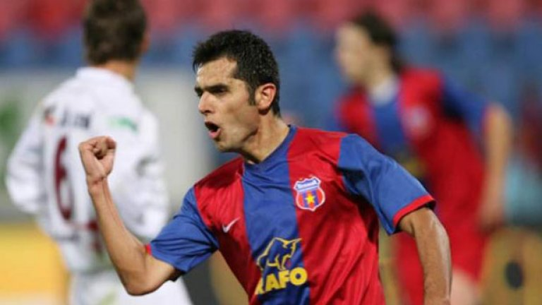 Дика е вторият най-резултатен играч на Стяуа в евротурнирите