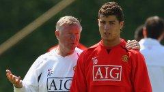 Тайната защо Роналдо избра Юнайтед през 2003 г.