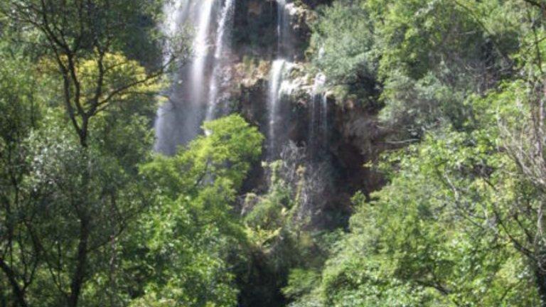 Полска Скакавица Този изключително красив водопад се намира в Земенска планина, Кюстендил. Малко по по-труднодостъпен е от останалите, но си струва гледката. Намира се до махала Водопада на село Полска Скакавица в живописния Земенски пролом на река Струма. Височината му е около 50 метра.