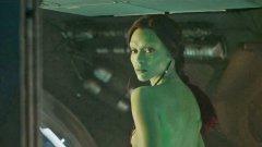 """Синя в """"Аватар"""" и зелена в """"Пазители на галактиката"""" - това е Зоуи Салдана"""